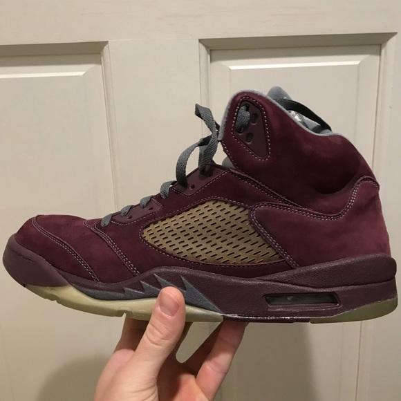 huge discount fa3bc 72255 Nike Air Jordan 5 Burgundy size 13